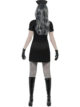 Adult Nurse Delirium Costume - Side View