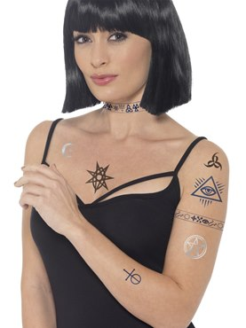 Occult Tattoo Transfers