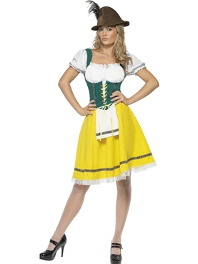 Adult Oktoberfest Ladies Bavarian Costume Couples Costume