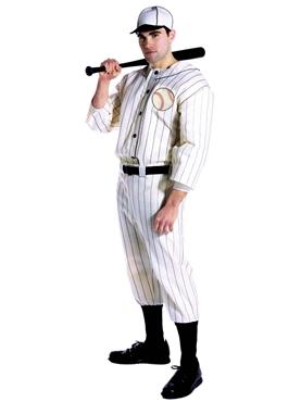 Adult Old Tyme Baseball Player Costume