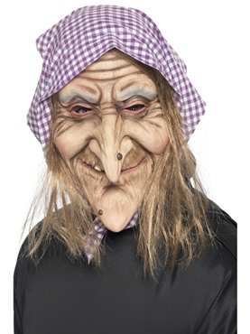 Adult Old Witch Mask