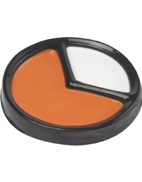 Adult Oompa Loompa Make Up Kit - Back View