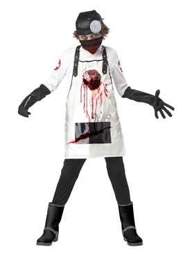 Child Open Heart Surgeon Costume