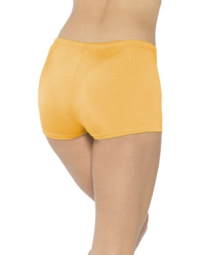 Orange Hot Pants - Back View