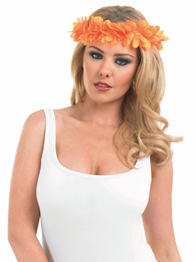 Orange Lei Headband