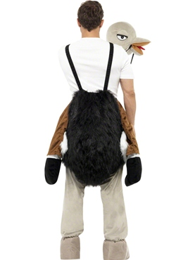 Adult Ostrich Costume - Side View