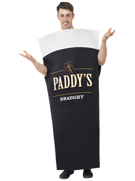 Adult Paddys Draught Costume Couples Costume