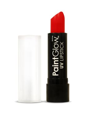Paintglow Red UV Lipstick - Side View