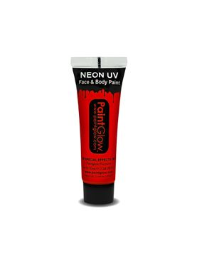 Paintglow UV Red Face & Body Paint