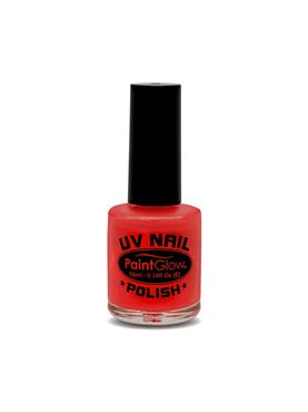 Paintglow UV Red Nail Polish