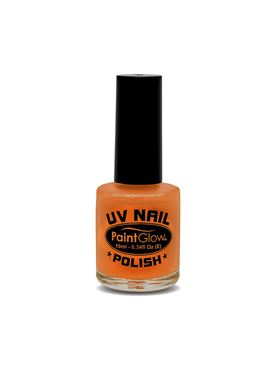 Paintglow UV Orange Nail Polish