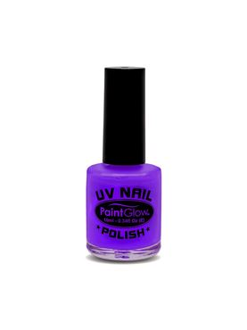 Paintglow Purple UV Violet Nail Polish
