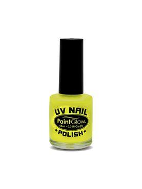 Paintglow UV Yellow Nail Polish