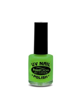 Paintglow UV Green Nail Polish