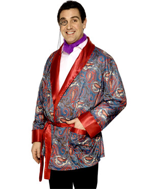 Paisley Design Smoking Jacket