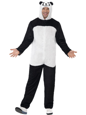 Adult Panda Onesie Costume Couples Costume