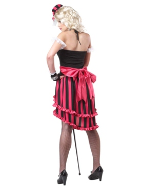 Adult Parisian Showgirl Costume - Side View