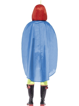 Parrot Party Poncho Festival Costume - Side View