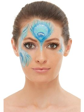 Peacock Makeup Kit - Side View