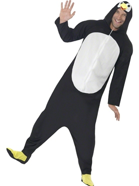 Adult Penguin Onesie Costume Couples Costume