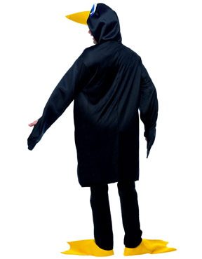 Adult Penguin Costume - Back View