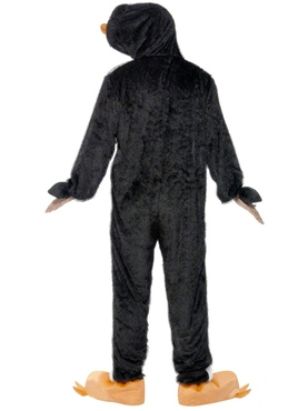 Adult Penguin Onesie Costume - Side View