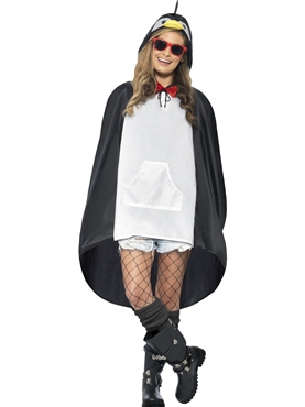 Penguin Party Poncho Festival Costume