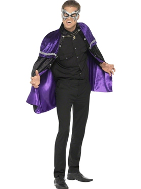 Adult Phantom Masquerade Vampire Cape