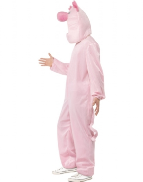 Adult Pig Costume - Back View