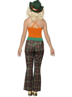 Adult Pimpette Ladies Costume - Side View