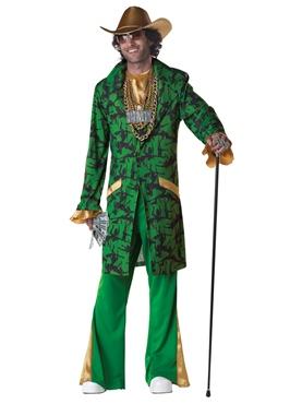 Adult Pimpin' Da Ho's Costume