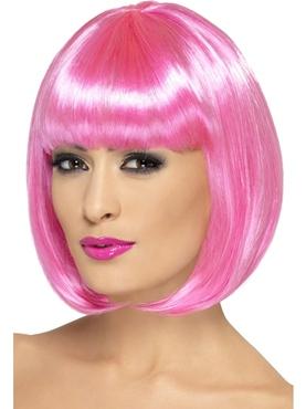 Pink Partyrama Wig