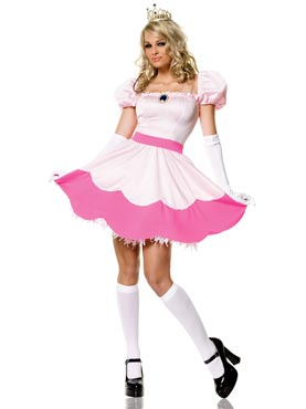 Adult Pink Princess Costume Thumbnail
