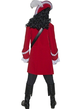 Adult Pirate Captain Costume - Side View