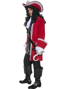 Adult Pirate Captain Costume - Back View