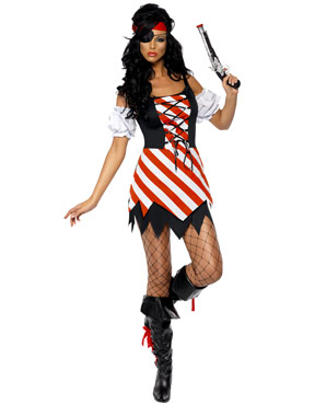 Adult Fever Pirate Costume