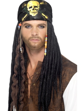 Pirate Dreadlocks Wig