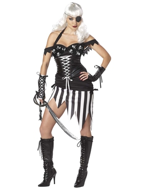 Adult Pirate Mistress Costume
