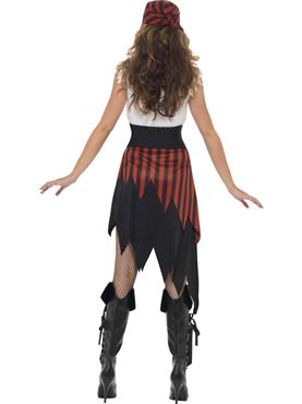 Pirate Wench Costume - Side View