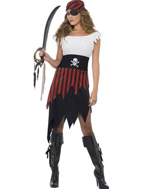 Pirate Wench Costume Couples Costume