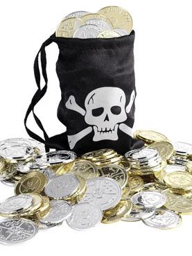 Pirates Coin Bag
