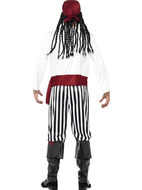 Adult Pirate Costume - Side View