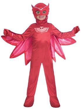 PJ Masks Child Deluxe Owlette Costume