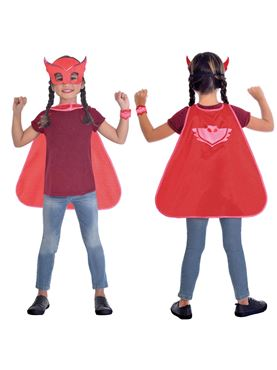 Pj Masks Halloween Costume.Pj Masks Child Owlette Cape Set