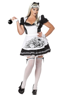 Adult Plus Size Dark Alice Costume