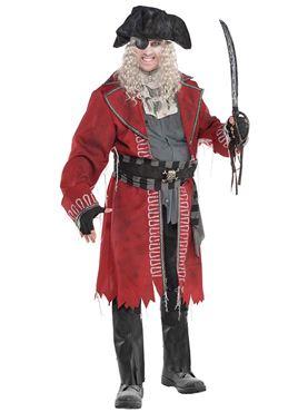 Plus Size Zombie Pirate Costume