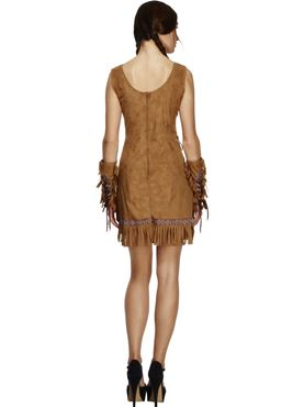 Adult Pocahontas Indian Girl Costume - Side View