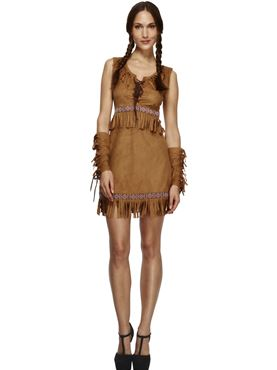 Adult Pocahontas Indian Girl Costume