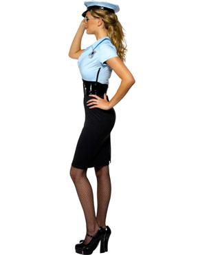 Adult Police Cadet Costume - Side View