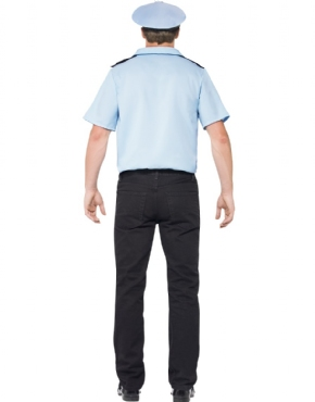 Adult Police Officer Costume - Side View